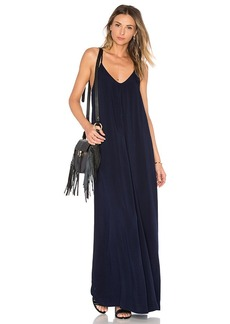 Michael Stars Maxi Slip Dress in Navy. - size XS (also in L,M,S)