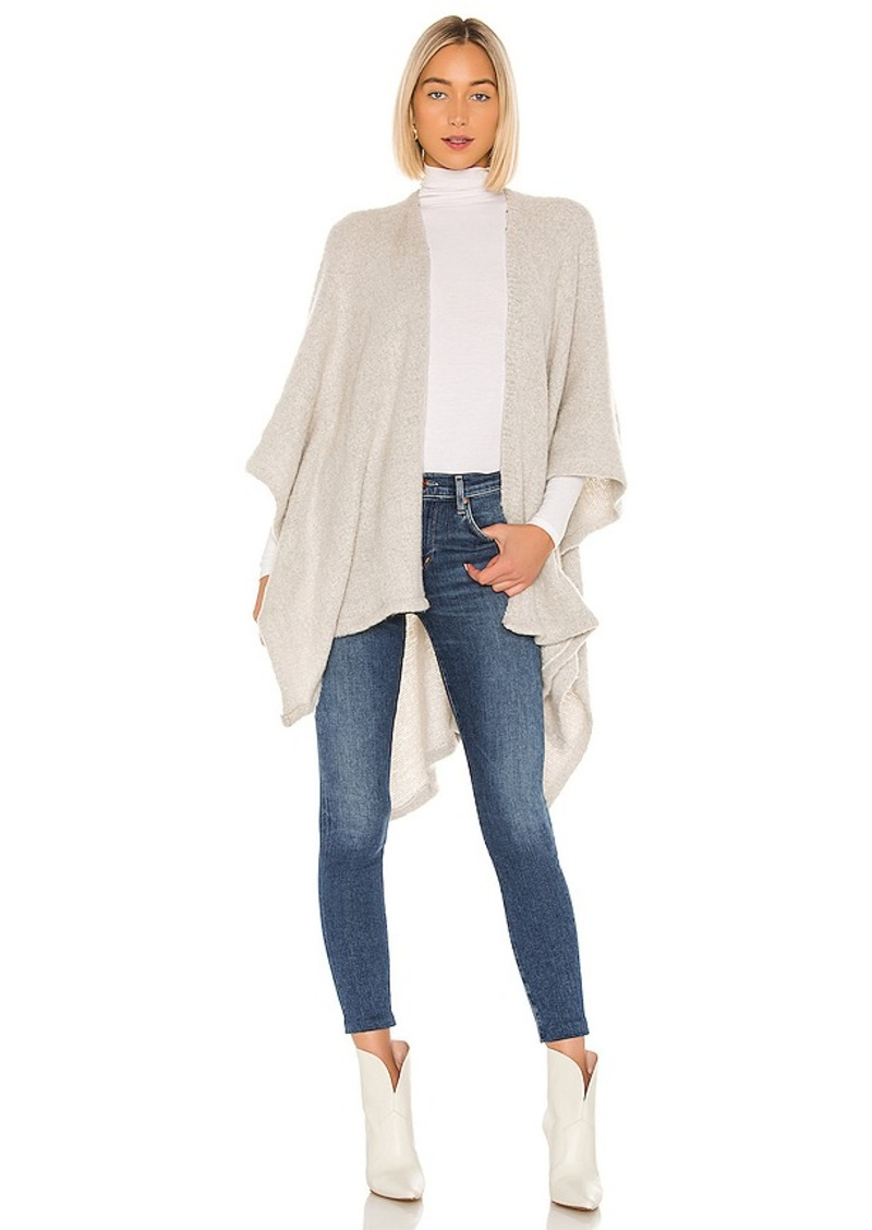 Michael Stars Maya Brushed Knit Ruana