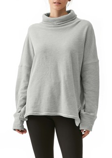 Michael Stars Meadow Reversible Turtleneck Sweatshirt