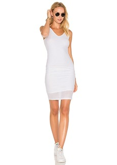 Michael Stars Mesh Midi Dress in White. - size S (also in L,M,XS)