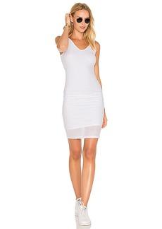 Michael Stars Mesh Midi Dress in White. - size L (also in M,S,XS)