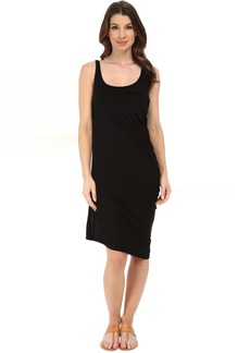 Michael Stars Micro Modal Asymmetrical Tank Dress