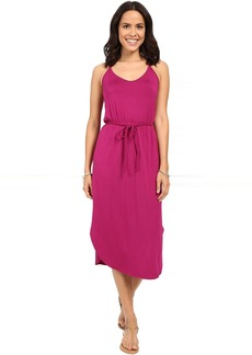 Michael Stars Midi Dress w/ Braided Waist Belt