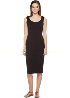 Michael Stars Midi Tank Dress with Tied Straps