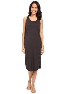 Michael Stars Midi Tee Dress w/ Crochet Detail