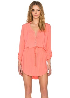 Michael Stars Mini Shirt Dress
