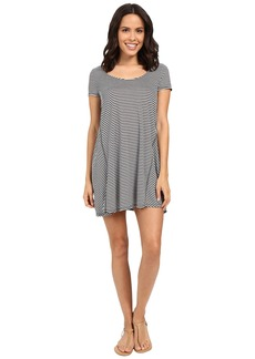 Michael Stars Mini Stripe A-Line Dress