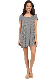 Michael Stars Mini Stripe A-Line Dress