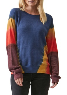Michael Stars Mira Raglan Sleeve Thermal Knit Pullover