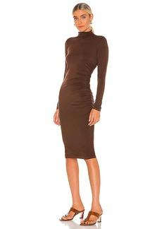 Michael Stars Mock Neck Midi Dress