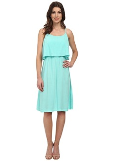 Michael Stars Modern Rayon Cami Dress w/ Open Back