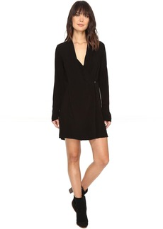Modern Rayon Cross Front Dress/Jacket