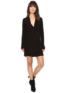 Michael Stars Modern Rayon Cross Front Dress/Jacket