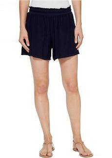 Michael Stars Modern Rayon Elastic Waistband Shorts