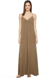 Michael Stars Modern Rayon Maxi Slip Dress