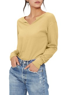 Michael Stars Nadia Notch Neck Top