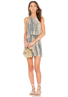 Michael Stars Naomi Halter Dress in Gray. - size L (also in M,S,XS)