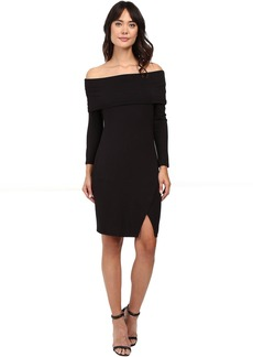 Michael Stars Off the Shoulder Cross Front Dress