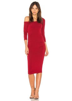 Michael Stars Off the Shoulder Dress in Red. - size L (also in M,S,XS)