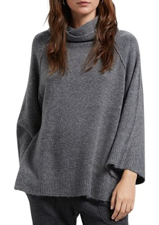 Michael Stars Raglan-Sleeve Turtleneck Sweater
