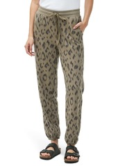 Michael Stars Ray Relaxed Animal Print Joggers