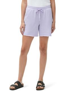 Michael Stars Reggie Cutoff Cotton Blend Fleece Shorts