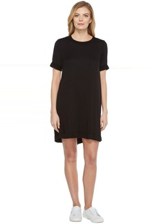 Michael Stars Romy Rayon Rib Neck Tee Dress