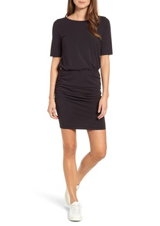 Michael Stars Ruched Body-Con Dress (Regular & Petite)