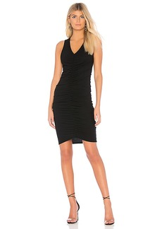 Michael Stars Ruched Mini Dress