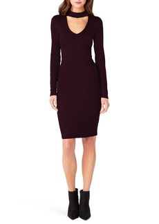 Michael Stars Shine Choker Neck Body-Con Dress