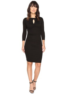 Michael Stars Shine Twisted Keyhole Dress