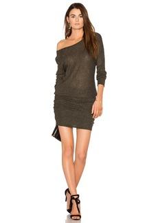 Michael Stars Shirred Mini Dress