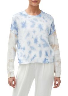 Michael Stars Sky Boxy Tie Dye Sweater