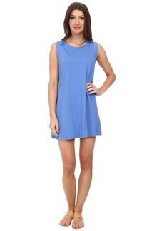 Michael Stars Sleeveless Crew Neck Tee Dress