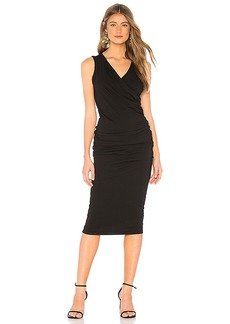 Michael Stars Sleeveless Crossover Dress