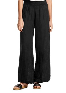 Michael Stars Smocked-Waist Wide-Leg Pants