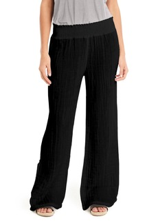 Michael Stars Smocked Wide Leg Pants