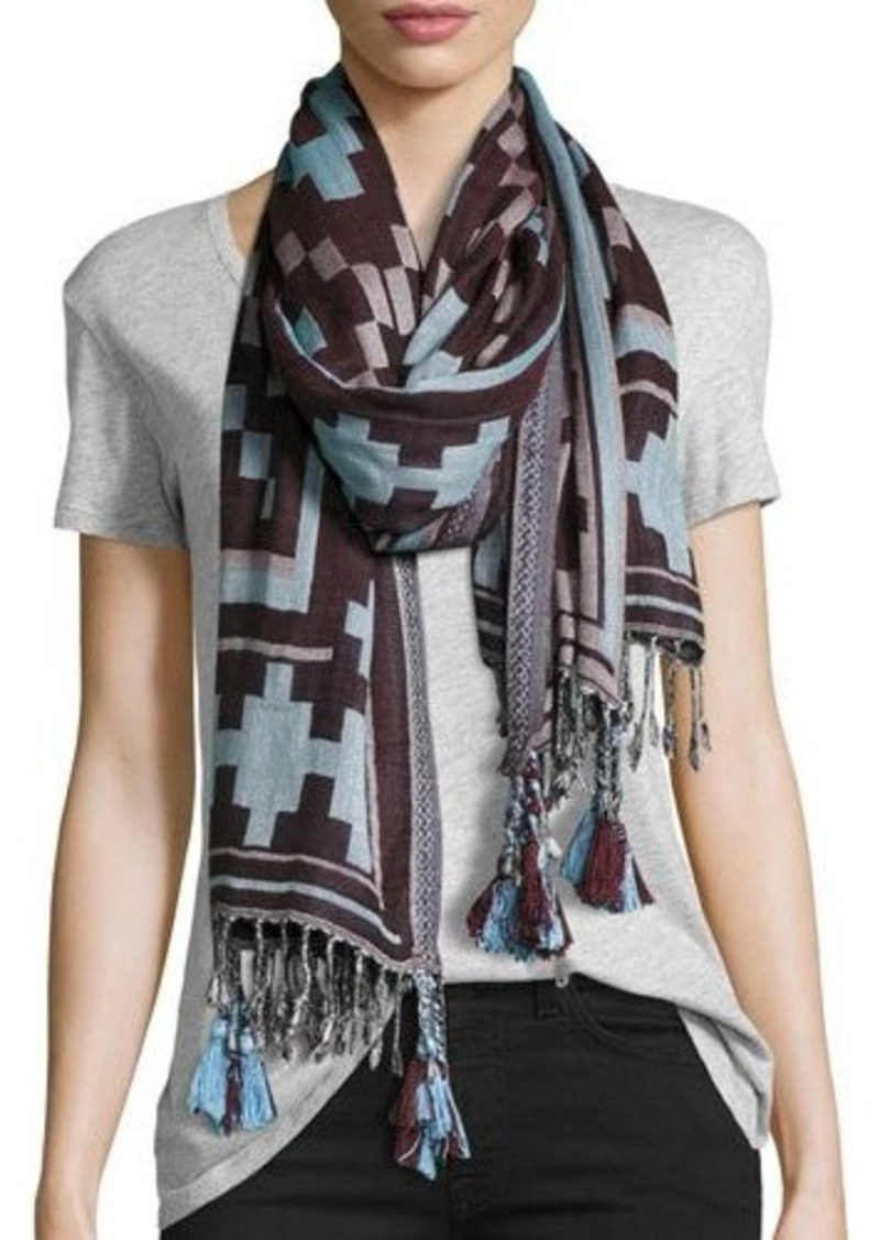 Michael Stars Southwest Border Scarf