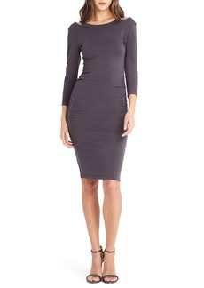 Michael Stars Strap Back Body-Con Dress