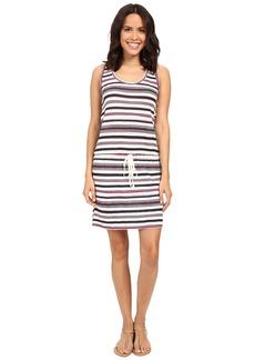 Michael Stars Striped Linen Knit Tank Dress