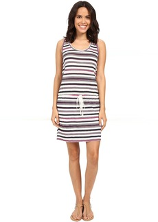Michael Stars Striped Linen Knit Tank Dress
