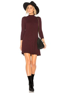 Michael Stars Swing Dress in Red. - size L (also in M,S,XS)