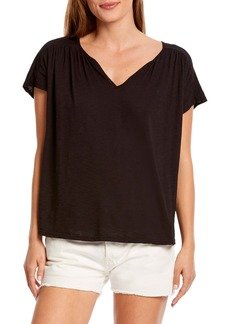 Michael Stars Tammy Notch Neck Tee