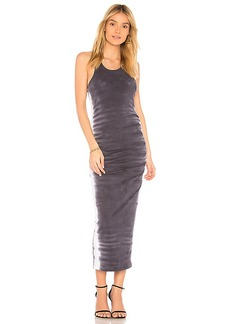 Michael Stars Tank Midi Dress in Charcoal. - size L (also in M,S,XS)