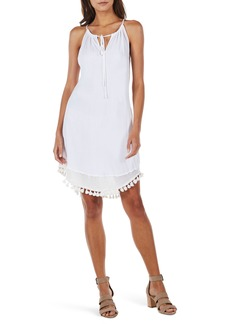 Michael Stars Tassel Trim Tank Dress