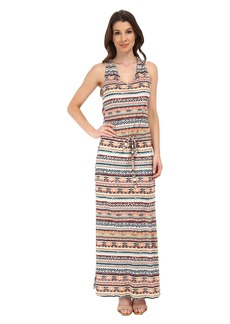 Michael Stars Tribal Print Maxi Dress