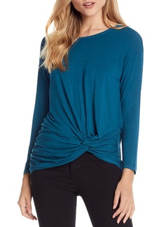 Michael Stars Twist Hem Stretch Jersey Top