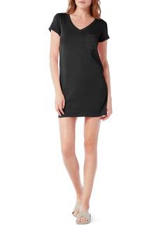 Michael Stars V-Neck Jersey Minidress (Regular & Petite)