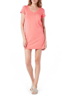 Michael Stars V-Neck Jersey Minidress (Regular & Petite)