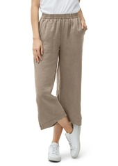 Michael Stars Washed Linen Wide Leg Pants